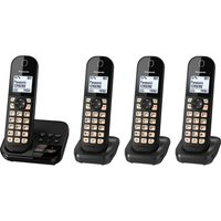 Click to view product details and reviews for Panasonic Kx Tgc464eb Cordless Phone Quad Handsets.