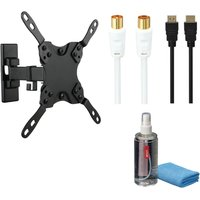 LOGIK LFMSKS16 Tilt & Swivel TV Bracket Starter Kit