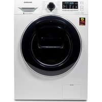 SAMSUNG AddWash WW80K5410UW Washing Machine - White, White