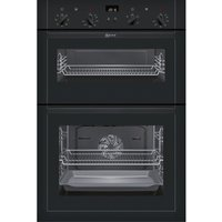 NEFF U14M42S5GB Electric Double Oven - Black, Black