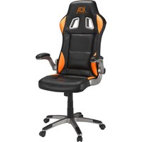 AFX AFXCHAIR16 Gaming Chair - Black & Orange, Black