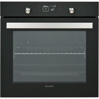 SHARP K-70V19BM2 Electric Oven - Black, Black