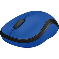 LOGITECH M220 Silent Wireless Optical Mouse - Blue, Blue