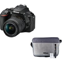 NIKON D5600 DSLR Camera with 18-55 mm f/3.5-5.6 Lens & Accessory Kit Bundle