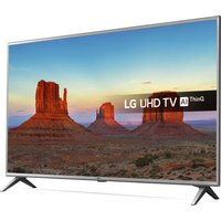 "LG 43"" 43UK6500PLA Smart 4K Ultra HD HDR LED TV, Sand"