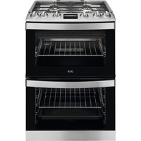 AEG CGB6130ACM 60 cm Gas Cooker - Stainless Steel & Black, Stainless Steel