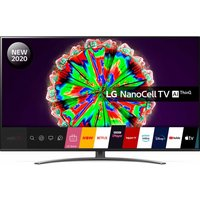 "49"" LG 49NANO816NA Smart 4K Ultra HD HDR LED TV with Google Assistant & Amazon Alexa"