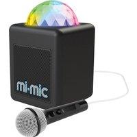 TOYRIFIC Mini Portable Bluetooth Karaoke Speaker - Black, Black.