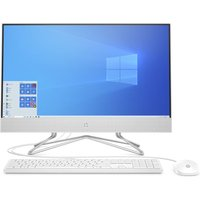 "HP 24-df0064na 23.8"" All-in-One PC - Intel®Core™ i5, 256 GB SSD, White, White"
