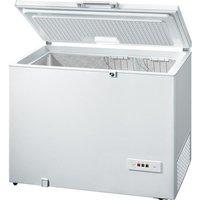 BOSCH GCM28AW30G Chest Freezer - White, White