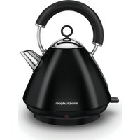 MORPHY RICHARDS  Accents 102030 Traditional Kettle - Black, Black