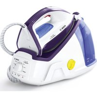 BOSCH Vario Comfort TDS6080GB Steam Generator Iron - White and Violet, White