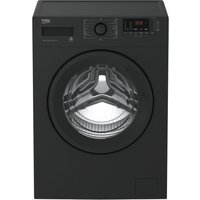 BEKO WTB841R2A 8 kg 1400 Spin Washing Machine - Anthracite, Anthracite