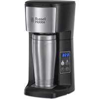 RUSSELL HOBBS Brew and Go 22630 Filter Coffee Machine - Stainless Steel, Stainless Steel