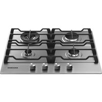 Samsung Na64h3030as Gas Hob - Stainless Steel, Stainless Steel