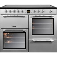 LEISURE Cookmaster CK100C210S Electric Ceramic Range Cooker - Stainless Steel & Chrome, Silver