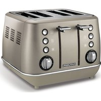 Buy MORPHY RICHARDS Evoke 4-Slice Toaster - Platinum - Currys PC World