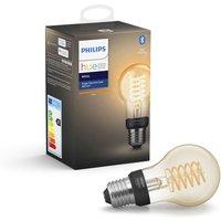 Philips HUE Filament Bluetooth LED Bulb - A60, E27, White