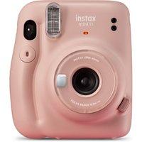 INSTAX Mini 11 Instant Camera - Blush Pink, Pink
