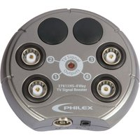 SLX 27813HSG/03 4-Way TV Signal Booster