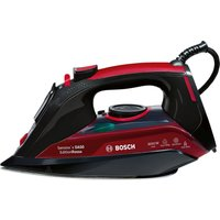 BOSCH Sensixx TDA5070GB Steam Iron - Black & Red, Black