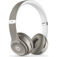 BEATS Solo 2 Headphones - Luxe Edition, Silver, Silver