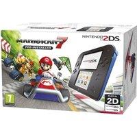 NINTENDO 2DS & Mario Kart 7 - Blue & Black, Blue