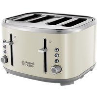Buy R HOBBS Bubble 24411 4-Slice Toaster - Cream, Cream - Currys PC World