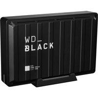 _BLACK D10 External Game Drive - 8 TB, Black, Black