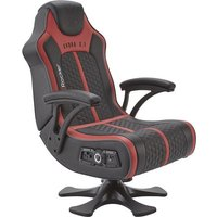 'X Rocker Evora 2.1 Wireless Gaming Chair - Black & Red