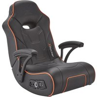 X ROCKER G-Force 2.1 Floor Rocker Gaming Chair - Grey, Grey.