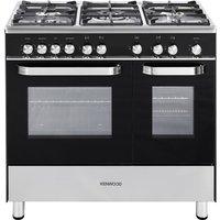 KENWOOD CK405G Gas Range Cooker - Black, Black