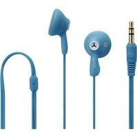 LOGIK Gelly LGELBLU16 Headphones – Blue, Blue.