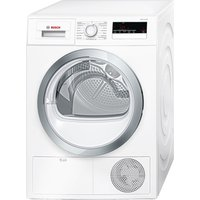 Bosch Tumble Dryer WTN85280GB Condenser  - White, White