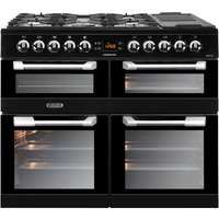 LEISURE Cuisinemaster CS100F520K Dual Fuel Range Cooker - Black, Black