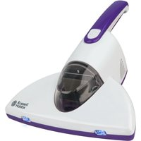 RUSSELL HOBBS RHBV1001 UV Antibacterial Bed Handheld Vacuum Cleaner - White & Purple, White