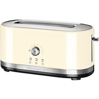 Buy KITCHENAID 5KMT4116BAC 2-Slice Toaster - Cream, Cream - Currys PC World