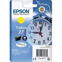 EPSON Alarm Clock 27 Yellow Ink Cartridge, Yellow