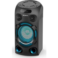 Sony Mhc-v02 Bluetooth Megasound Party Speaker - Black, Black