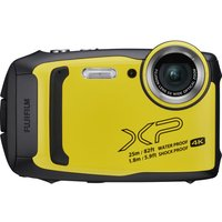 FUJIFILM FinePix XP140 Tough Compact Camera - Yellow, Yellow