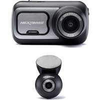 NEXTBASE 422GW Quad HD Dash Cam with Amazon Alexa & NBDVRS2RWC Quad HD Rear View Dash Cam Bundle