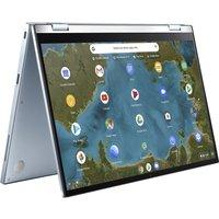 "Asus Flip C433TA 14"" Intel Core m3 2 in 1 Chromebook - 64GB eMMC, Silver,"