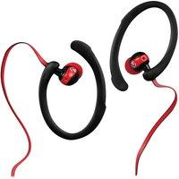 VOLKANO Sports Series VS203BKR Earphones - Red & Black, Red