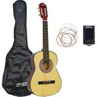 3RD AVENUE STX20 1/2 Size Classical Guitar Bundle - Natural