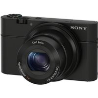Sony Cyber-shot DSC-RX100 I High Performance Compact Camera - Black, Black