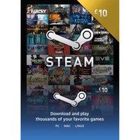 Steam Wallet Card - £10