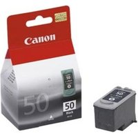 CANON PG-50 Black Ink Cartridge, Black