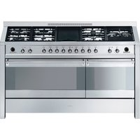 SMEG Opera 150 Dual Fuel Range Cooker - Stainless Steel, Stainless Steel