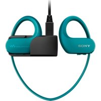 SONY Walkman NW-WS413L 4 GB Waterproof All in One MP3 Player - Blue, Blue