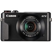 CANON PowerShot G7 X Mark II High Performance Compact Camera - Black